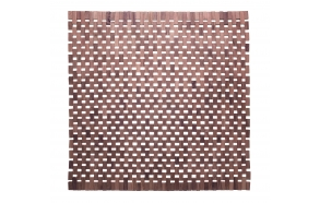 Roosipuust vannitoamatt ,pruun, 60x60 cm