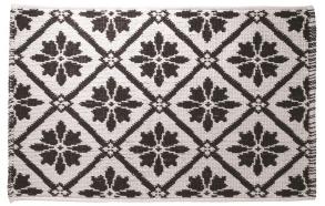 PATTERN bathmat, white, 50x80cm