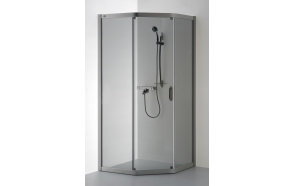 Shower enclosure VAIVA , clear glass