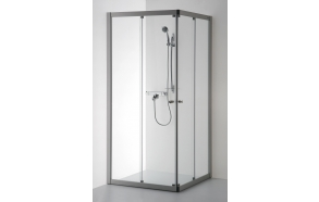 Shower enclosure RASA , clear glass