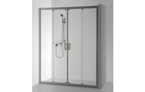 Shower screen SVAJA PLUS , clear glass