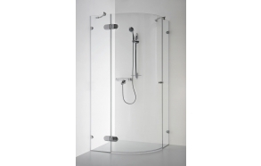 Shower enclosure BANGA , clear glass