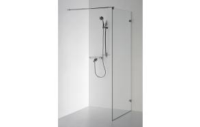 Shower screen DORA , clear glass