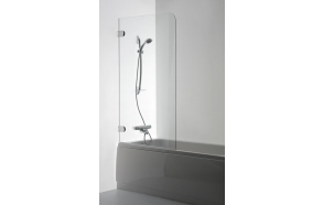 Shower screen  MEDA , clear glass