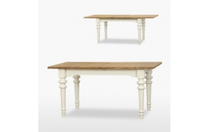 Extending Siena dining table 1 leaf