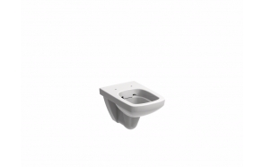 NOVA PRO wall-hung pan, rect Rimfree
