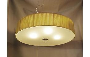 pendant lamp Romana gold 4x40w