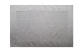 Placemat silvergrey, 45x33cm