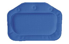 UNILUX headrest, royal blue, 32x22cm