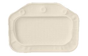UNILUX headrest, beige, 32x22cm