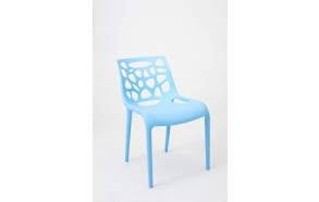 design chair,stackable,blue
