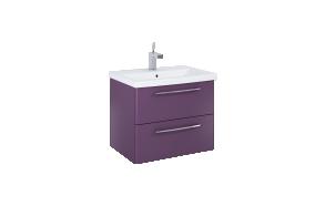 mööbel JUMP 60 matt violetne, 2 sahtlit