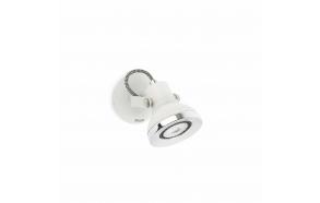 RING LED valge seinavalgusti ,1 x GU10 LED,metall