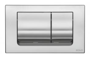 Flush plate SLIM chrom matt