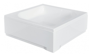 shower tray 80x80 cm, square, no siphon