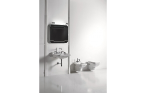 Washbasin Waldorf 60x55 cm,chromed overflow ring included (414001+811390)