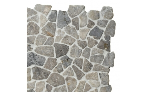 Mosaic marble Light Grey Interlock