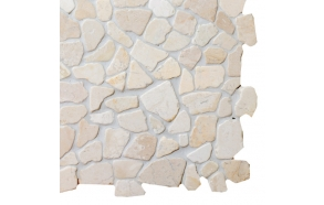 Mosaic marble White Interlock