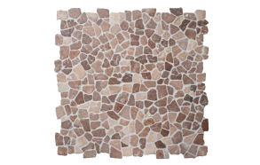 Mosaic marble Coco Brown Interlock