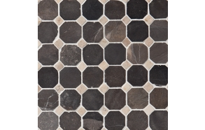 Classic Pattern 50x50mm Grey-White