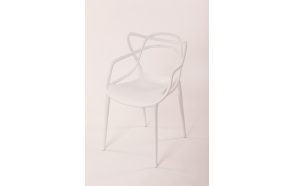 stackable chair Mucha, white