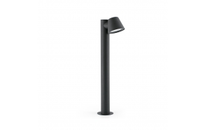 GINA dark grey beacon lamp h 70 cm ,1 x GU10 35W not included