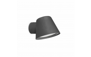 GINA dark grey beacon lamp,1 x GU10 35W not included