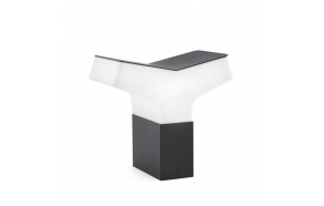 TAO  dark grey beacon lamp h 22 cm ,1 x E27 20W (ei ole komplektis)
