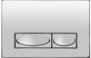 flush plate Design, metal, chrome
