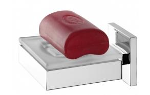 soap dish ITEM, chrome, no screw assembling