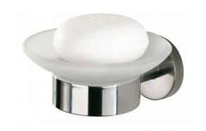 BOSTON soap dish, polished, no screw assembling