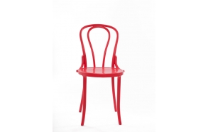 design chair Vienna, red