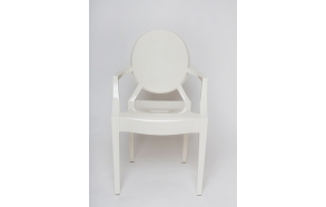 design chair Louis, Ivory