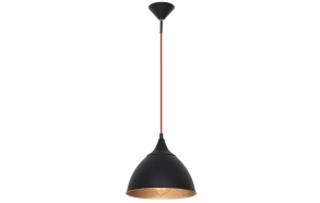ceiling lamp Loft, black, E27,1X40W