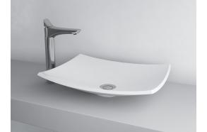 cast stone basin Natura, white