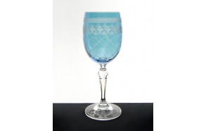 Wine glass Largo Bondone, blue 250ml