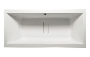 arcylic bathtub Marlene, with full frame, side panels and drain-overflow