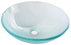 ICE glass washbasin diameter 42cm