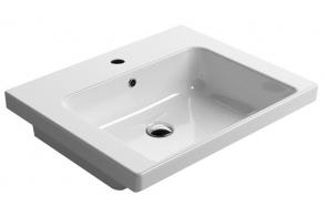 NORM ceramic washbasin 60x18x50cm