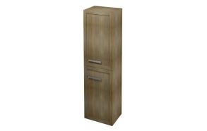 LARITA storage cabinet 40x140x30cm, right, oak graphite