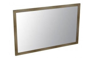 LARITA mirror 120x75x2cm, oak graphite