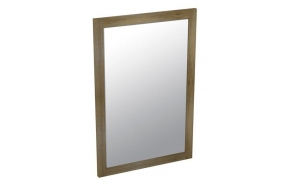 LARITA mirror 50x75x2cm, oak graphite