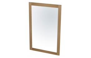 LARITA mirror 50x75x2cm, oak natural