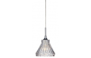 LAURA wall hung light E14 40W, 230V, chrome, IP21