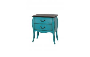 nightstand Mellow,blue, wood