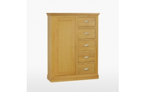 Chest of 5 drawers with hanging