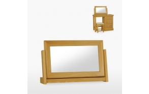 Large swing mirror