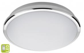 SILVER Ceiling LED Light 10W, 230V, d.28cm, day white, chrome