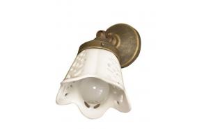 SORENTO valgusti E14 40W, 230V, keraamilise varjuga, pronks