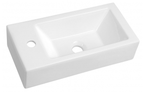 ALMA Ceramic Washbasin 50x24,5 cm